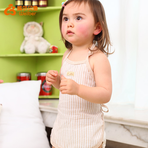 Wellber baby breast Kids bellyband Cotton warm abdomen protecte baby's navel Taobao Agents