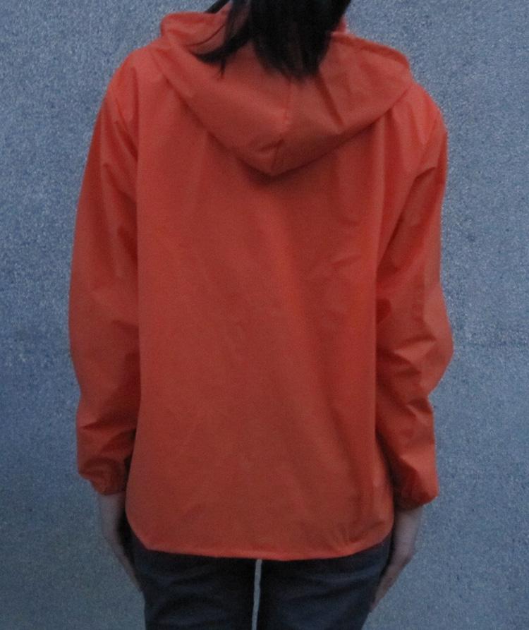 женский плащ b7001 Прямой С капюшоном Классический рукав