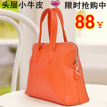 Summer new European and American leather bags 2013 new shoulder diagonal portable female bag motorcycle bag
