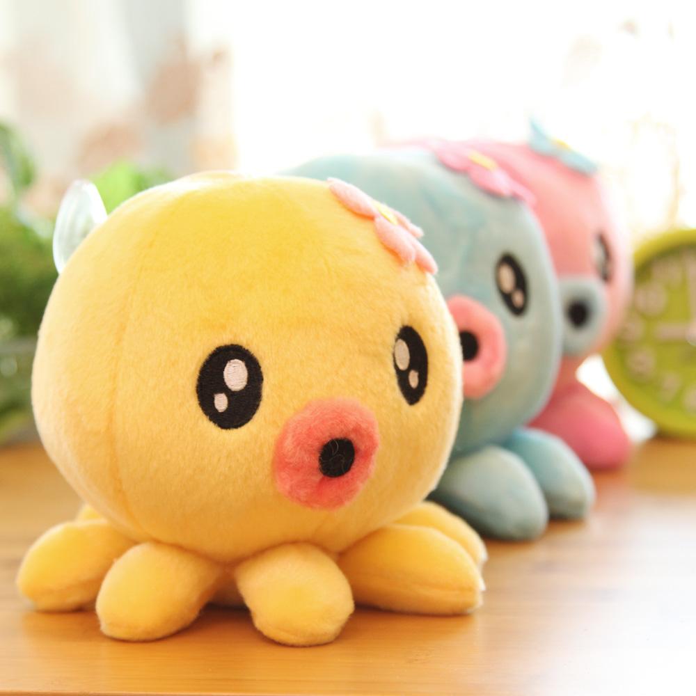 章鱼 毛绒布艺类玩具