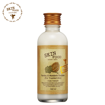 SKINFOOD think skin-friendly orange parsley soothing lotion mild acne sebum regulating seasonal essential