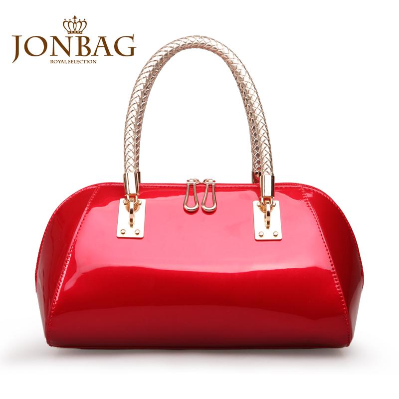 简佰格 新娘包2013新款欧美包包潮流女士结婚包手提包红色女包