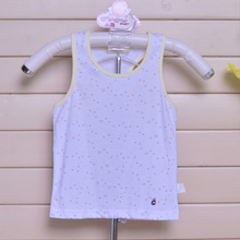 Ugly children's wear children's summer wear vest cotton thin boy girl h vest and relaxed breathable cotton