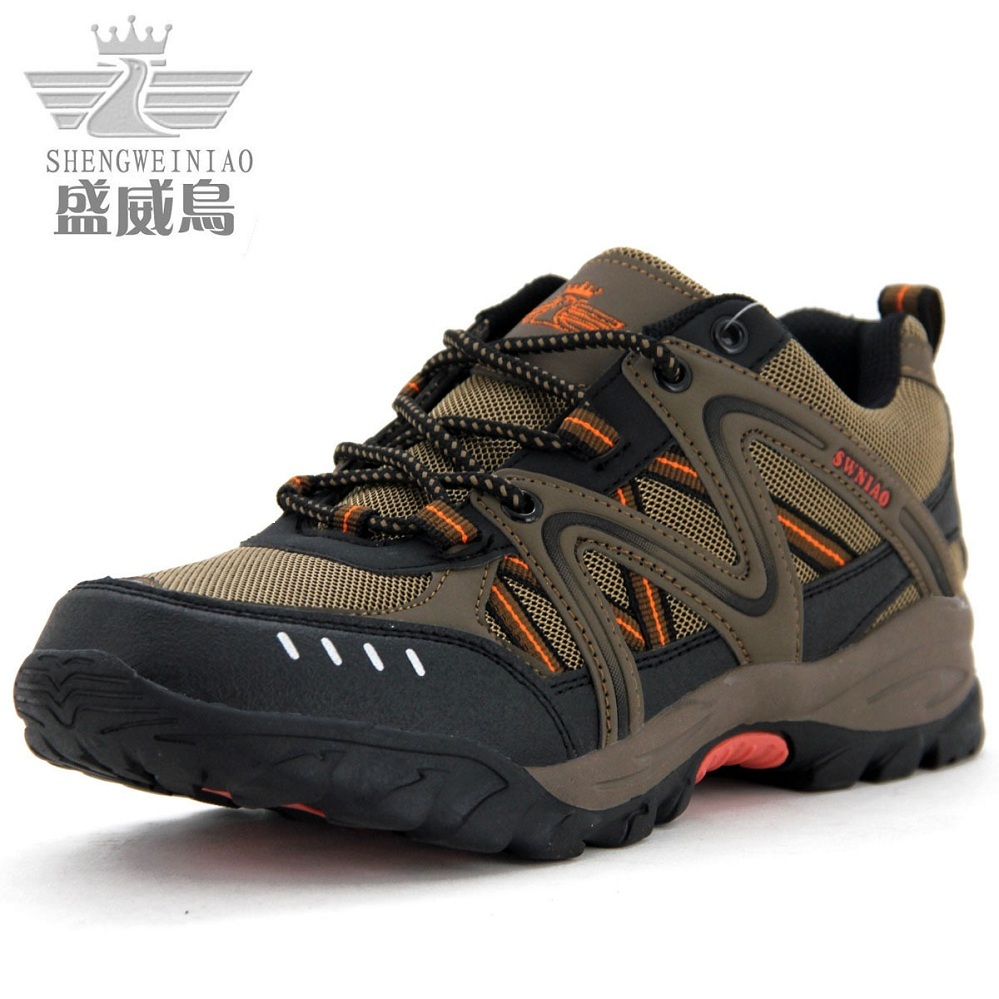 Summer men's hiking shoes authentic men and women walking shoes outdoor shoes for men and women men's breathable women hiking shoes