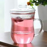 耐热过滤玻璃茶杯