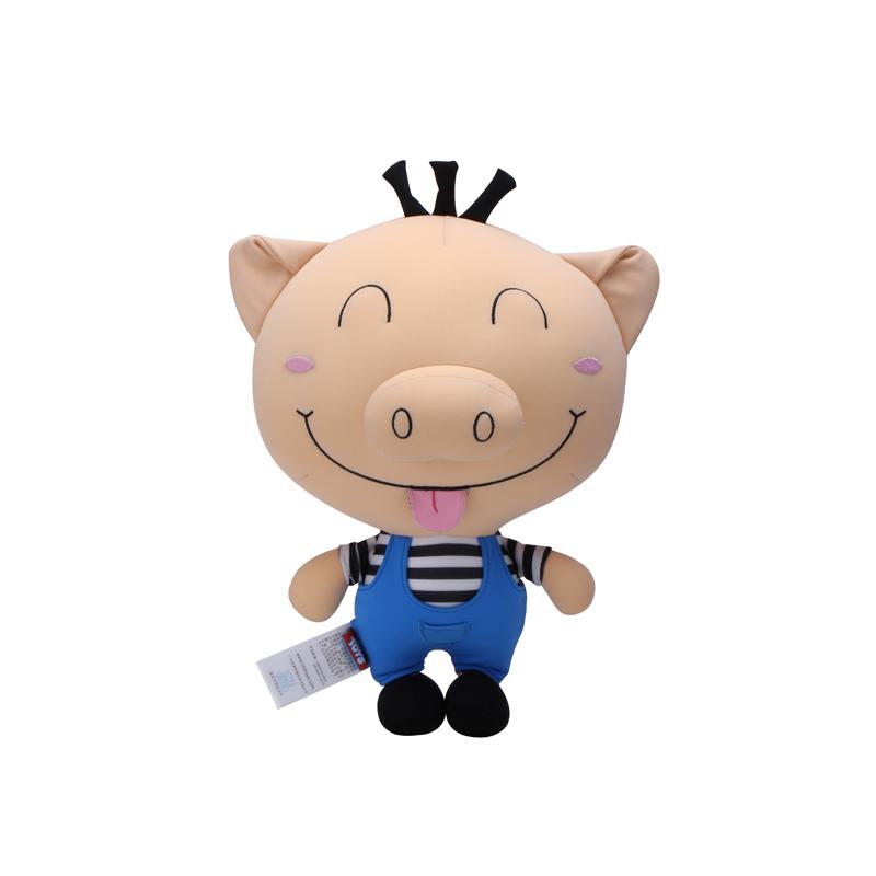 毛绒公仔猪 公仔可爱猪猪玩偶婴儿童毛绒玩具礼物布娃娃淘气猪