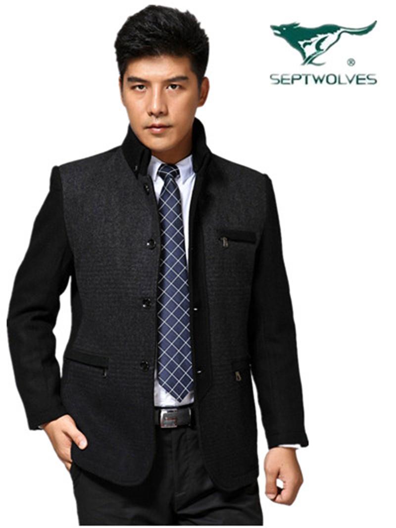 Пальто мужское The septwolves 8801 8802 2013