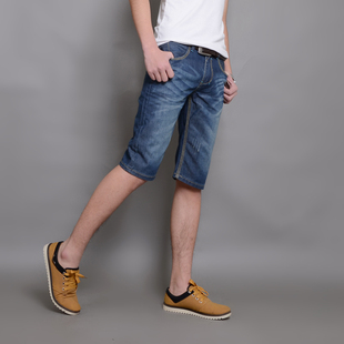 Semir Spring and summer men's casual pants men pants washed cotton straight men's outdoor bags of loose trousers overalls