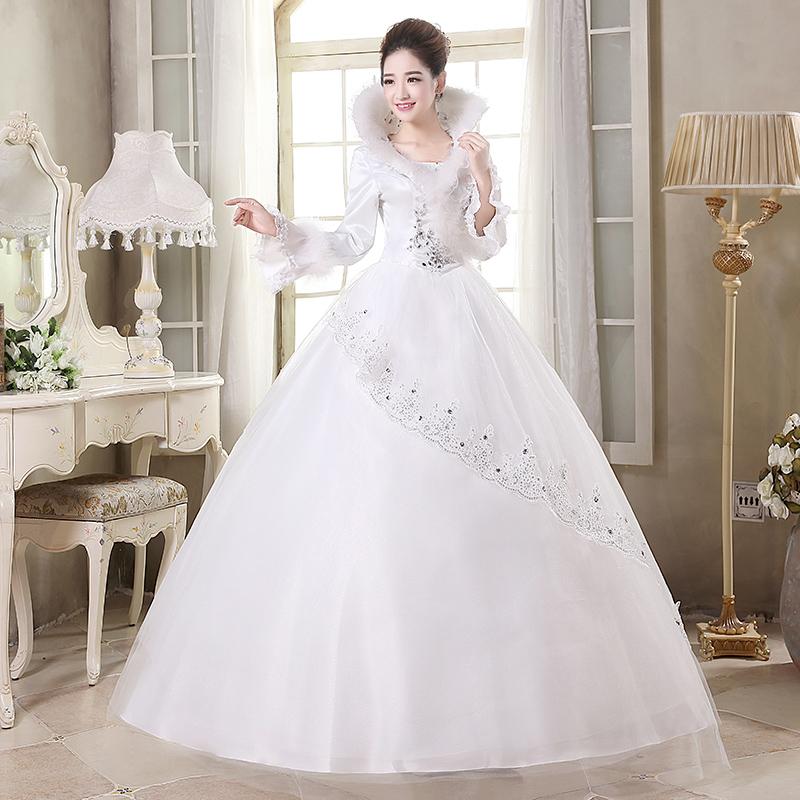 梦缘天承 结婚纱礼服2013最新款韩版公主绑带优雅新娘H1560