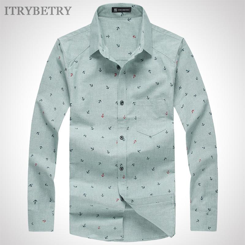 Рубашка мужская Itrybetry 2014