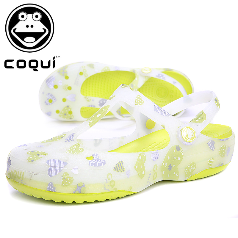 Authentic malizhenyina cool fun holes shoes footwear Sandals Jens Scharping told Carmela jelly shoes women sandals