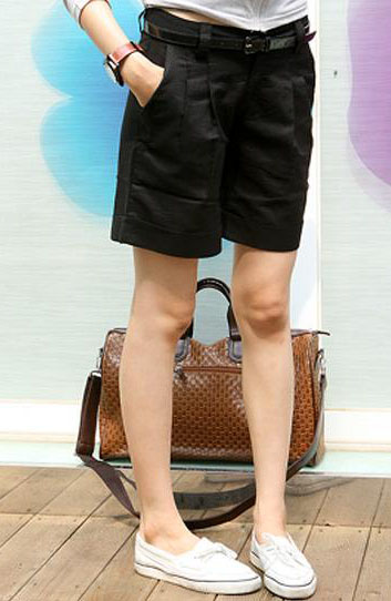 Женские брюки Весна 2013 Amoi женщин шорты женские летние брюки хлопок штаны в корейской версии тонкий размер пять очков для заказа спец Шорты Прямые Дикие должны быть удалены 2013 года, Весна 2013