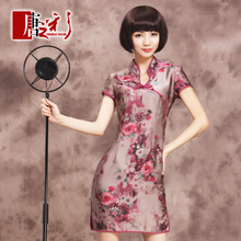 Original Silk Roads Plum series Miss Xia Zhuang cheongsam dress sub grade authentic 2013 New