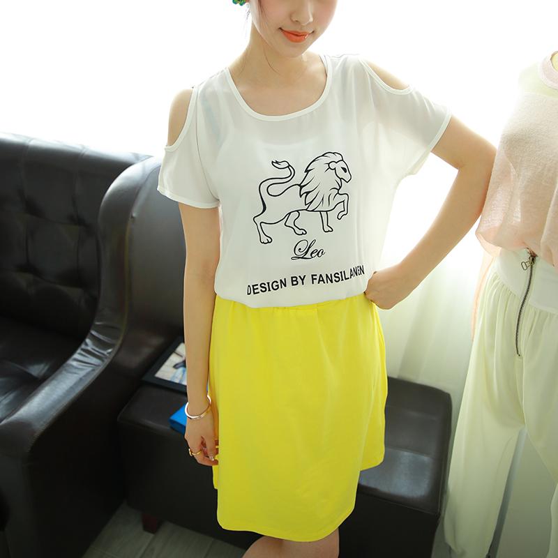 韩版两件套休闲范儿女装
