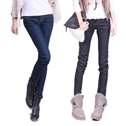 Jeans pants large size Korean style slim pencil pants