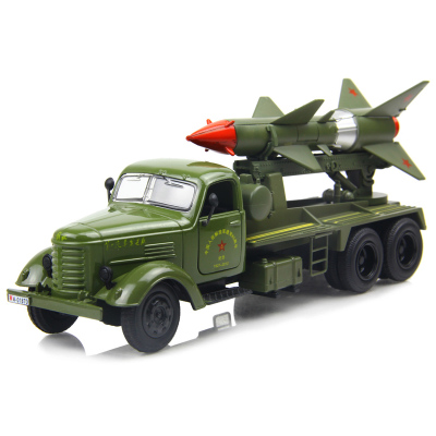 Old toy military vehicles liberation missile military vehicle model truck 1:36 alloy car model front