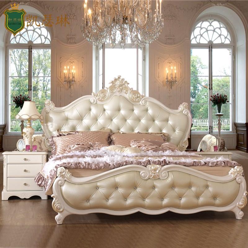 Кровать из массива дерева Catherine  1.8