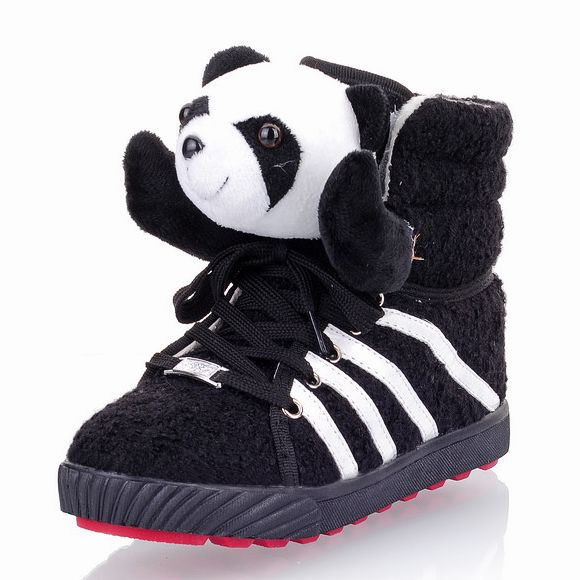 Warm and sweet teddy bear cute cartoon panda shoes, ladies shoes personality Mianxie [K281]