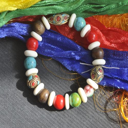 Бусины Дзи Оригинальный браслет с тибетской характеристиками наших тибетских ювелирные изделия стиль браслет новых прохладно летом