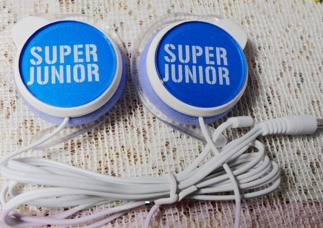 Сувенир со звездами кино и эстрады Superjunior/SJ вокруг с новым подвеска типа портативных наушников