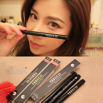 Taiwan-funded perfect VEECCI only lasting liquid eyebrow pencil water naturally waterproof is not blooming shipping