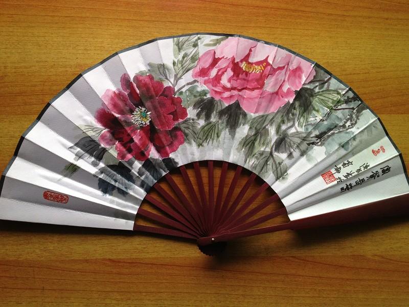 Декоративный веер Zhi Yun Pavilion