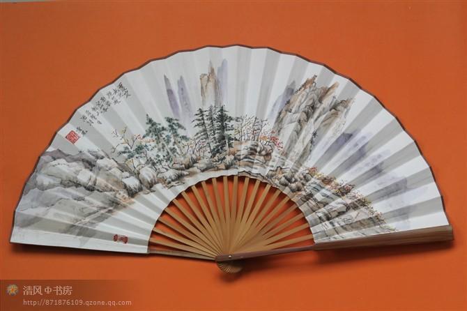 Декоративный веер The wind