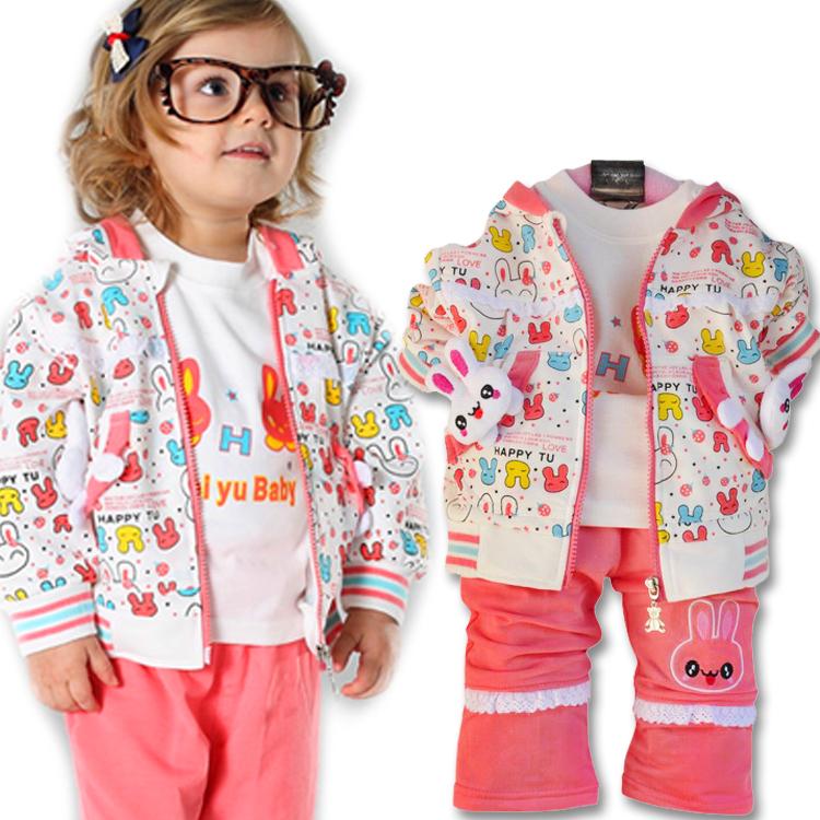 детский костюм Children want to play 10302 2013 01-2 Колледж Смешанная ткань Весна-осень Девушки