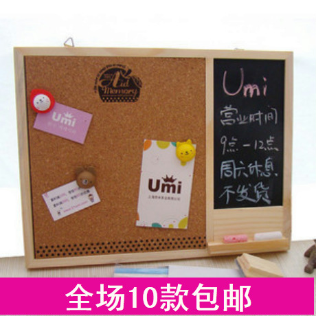 Черная доска Висит цепь Корк сообщение платы и малых Корейский праздник день рождения подарок небольшой мультфильм малых