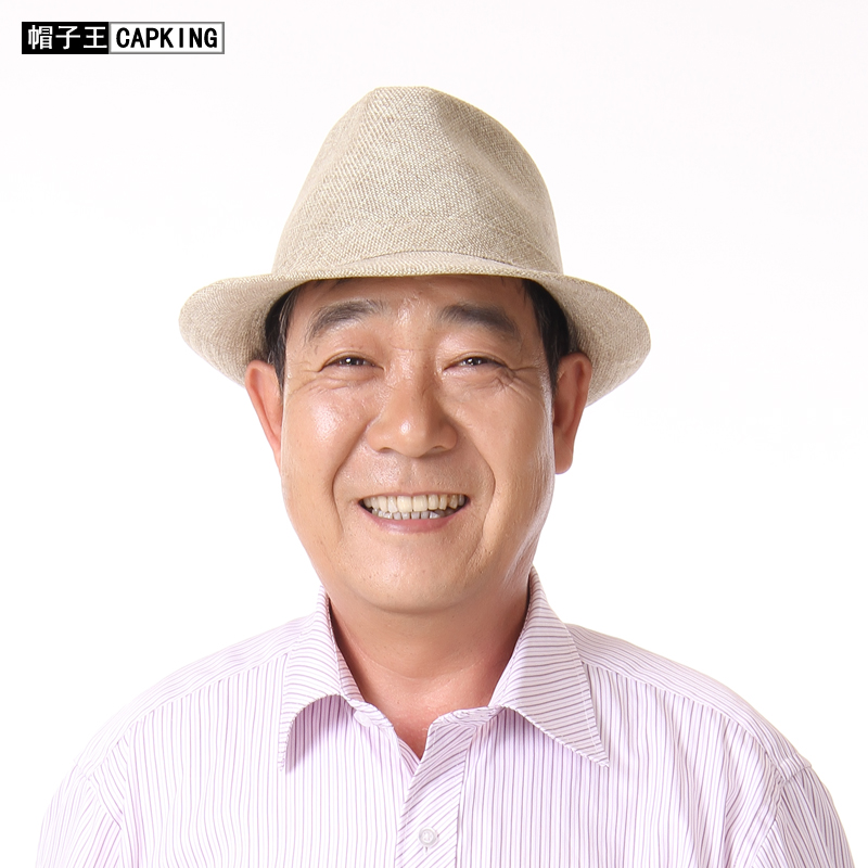 2014經典禮帽 遮陽防曬帽 中老年男士帽子 夏季太陽帽 老人帽男帽圖片