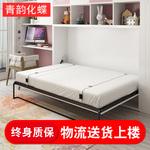 隐形床五金配件壁床多功能省空间折叠侧翻床双人翻版床墨菲床定制