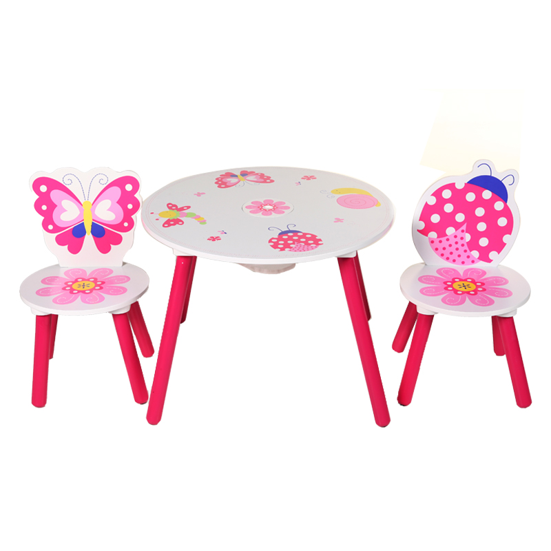 Cny 368 00 Baby Play State Children S Tables And Chairs Cartoon Toy Desk Wooden Study Kindergarten Learning Table