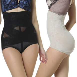 Nhe8673a waisted not curling hip waist abdomen received super gastric body shaping pants pants
