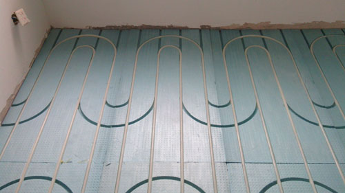 Трубки Horizon dry/type floor heating template  0.72