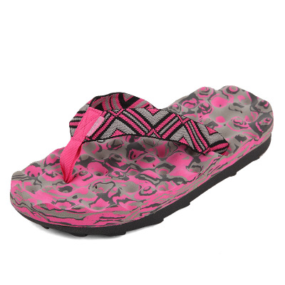 Bao Baofeng couple flip-flops, sandals and slippers summer sandals flip flops female trend camouflage slippers