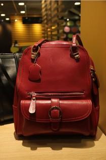 2013新款学院风女包 韩版复古双肩包背包书包锁扣包 单肩包手提包