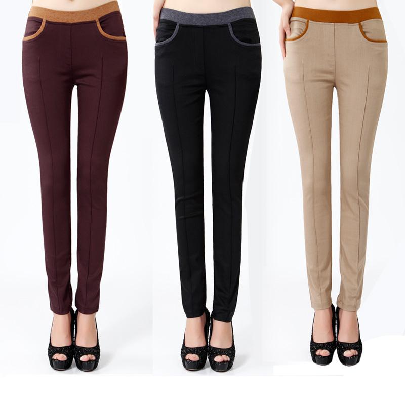 Женские брюки Shushadiya b1088 Длинные брюки Узкие брюки-карандаш Дикие должны быть удалены Весна 2013 Разное Асимметрия