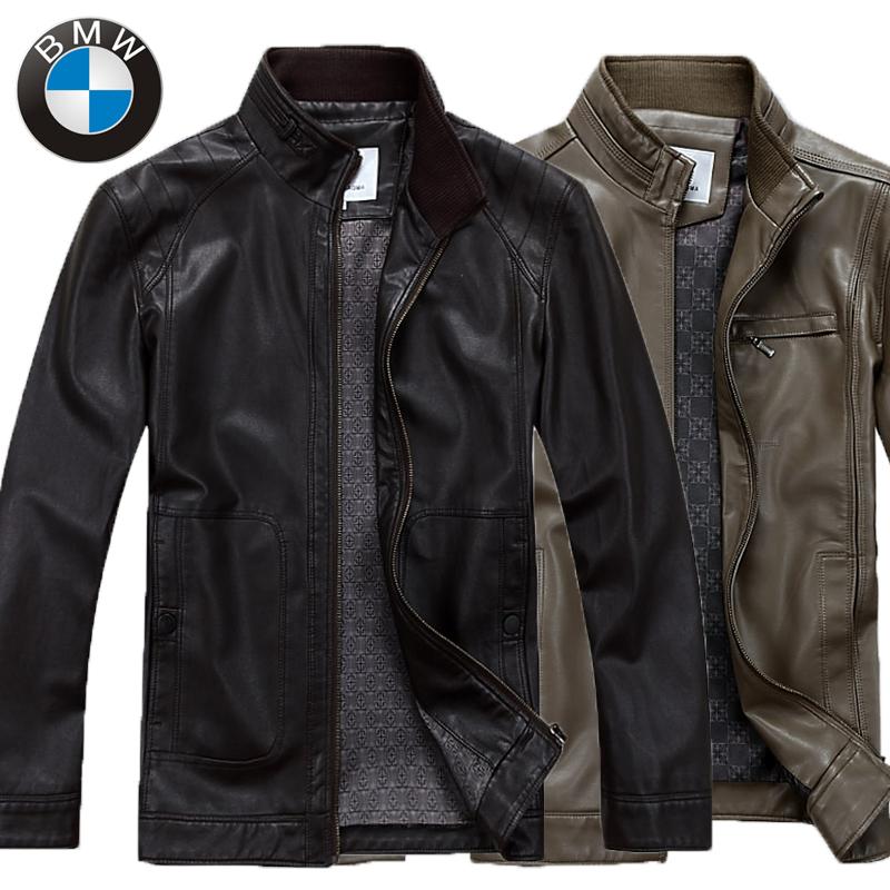 Одежда из кожи BMW 2013 Одежда из натуральной кожи Овечья кожа Осень
