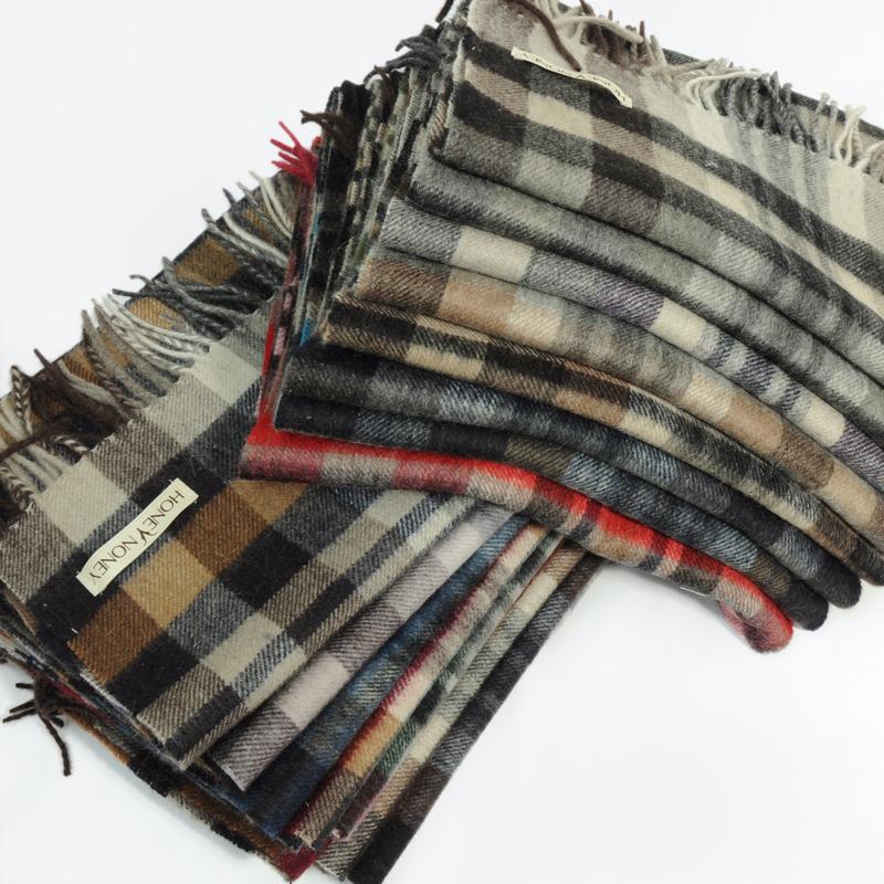 шарф w3bk056 Обычная модель Овчина Шарф