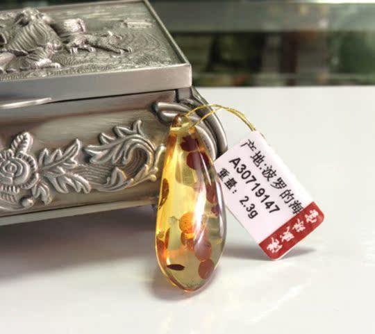 Сувенир из янтаря Естественный Балтийский Янтарный кулон цветы Перкинс Купер сертификат дал серебряными застежками и строка подарок на день рождения