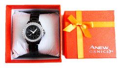 换购价30元 Avon雅芳优雅时尚腕表(9999824) 镶钻表盘 时尚女表QQ