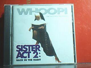 Музыка CD, DVD Действуй, сестра сестра обратно в привычку Вупи Голдберг сумасшедший день B7