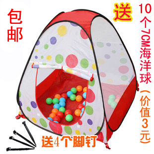 Stamp/tents Beach tents for children baby game House 10 marine ball