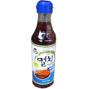 Korean food boy whitebait fish sauce korean pickled for Korean fish sauce