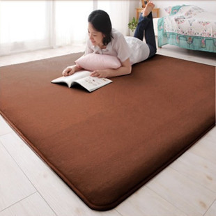 New special super soft coral fleece rug bedroom living room coffee table carpets can be washed