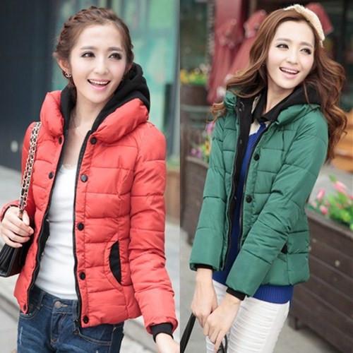 Женская утепленная куртка Korean homes have clothes 8822 # 2013