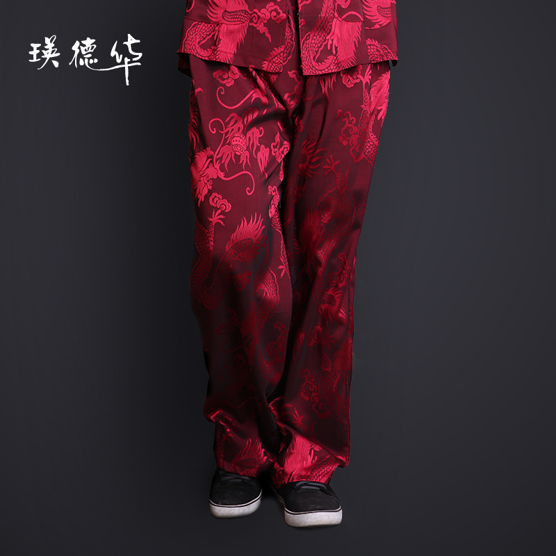 New products, clothing men's casual trousers middle-aged Chunqiu thin clothing Pant men's clothing men's clothing costume
