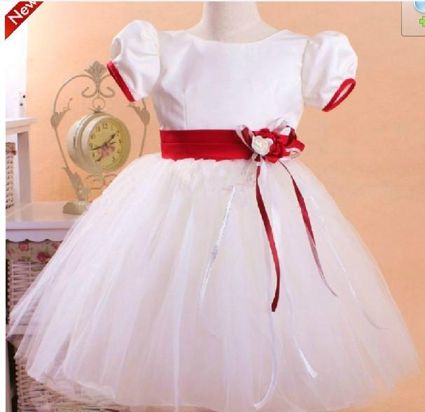 童蓬蓬裙 花童礼服裙