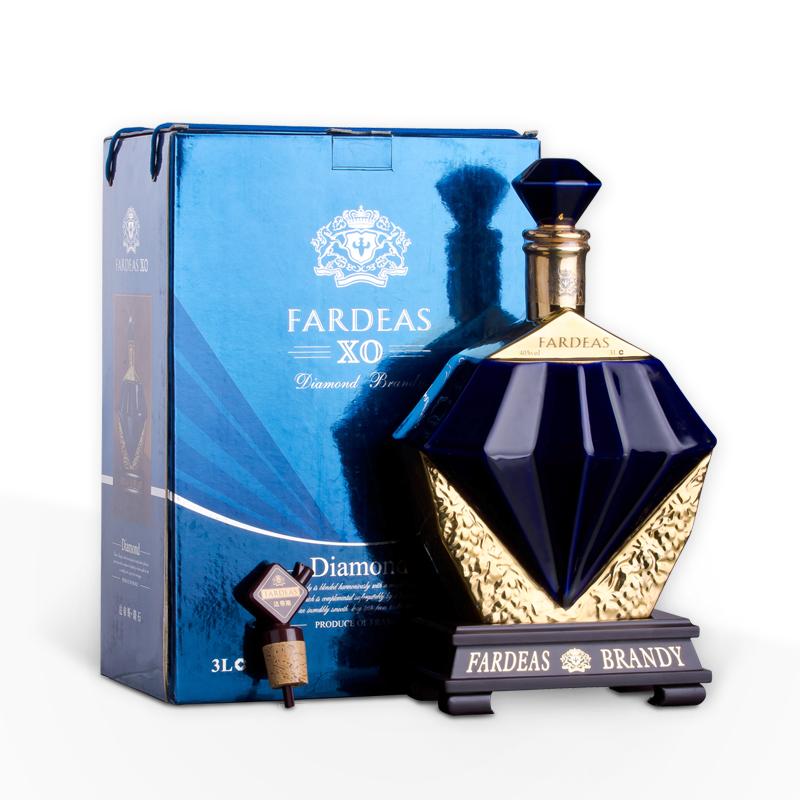 随意买 法帝斯钻石XO白兰地 法国进口正品洋酒 3L