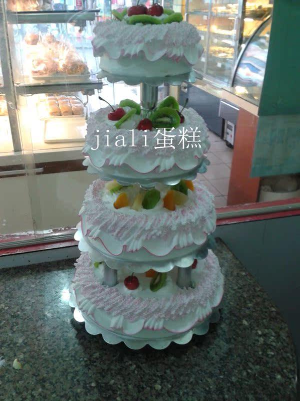 多层婚庆蛋糕 生日蛋糕 做寿6层蛋糕上海市杨浦黄浦区配送6层